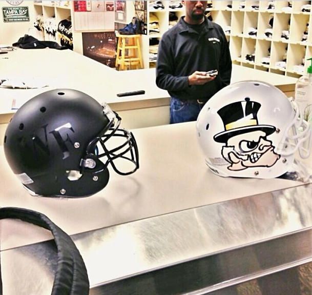New Wake Forest Helmet