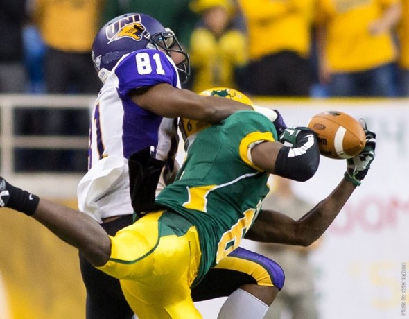 North Dakota State Cornerback C.J. Smith