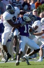 Isaac West hauls in pass vs. Georgia Southern in 29-22 win for Furman, which helped the Paladins gain a share of their 12th Southern Conference title in program history.