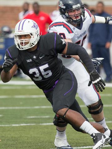 Furman Senior All-SoCon Defensive End Gary Wilkins Is Poised To Lead The Paladin Defense In 2014