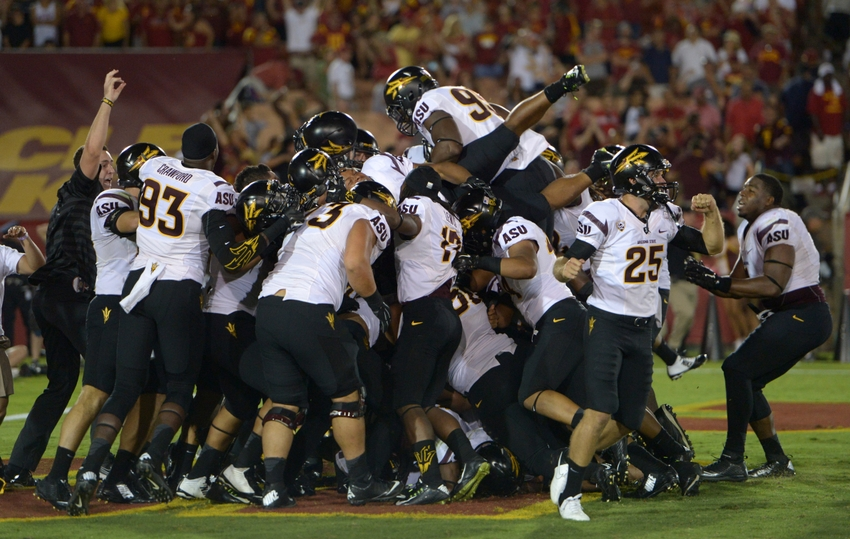college football upsets today football college ranking