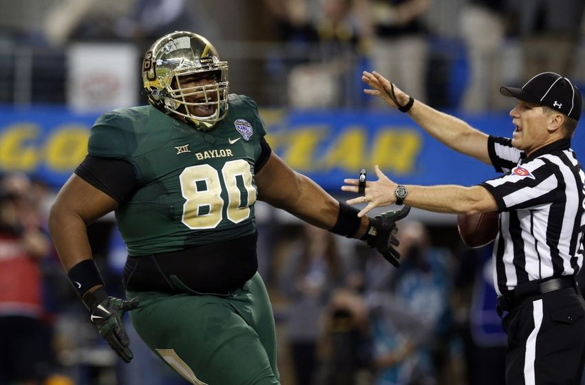 Baylor Has A 410-Pound Offensive Lineman Now