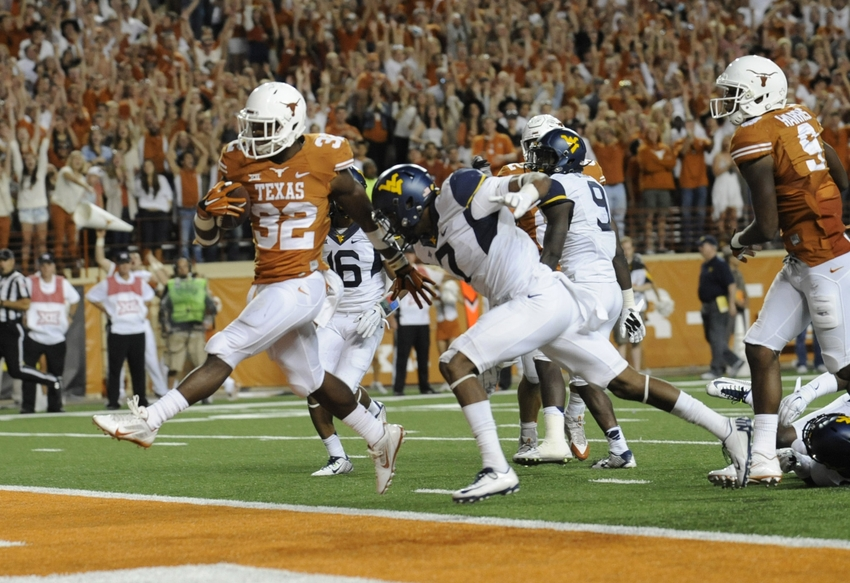 Texas Longhorns: Five most important games games in 2015