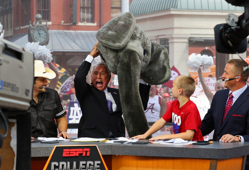 college gameday time championship football game
