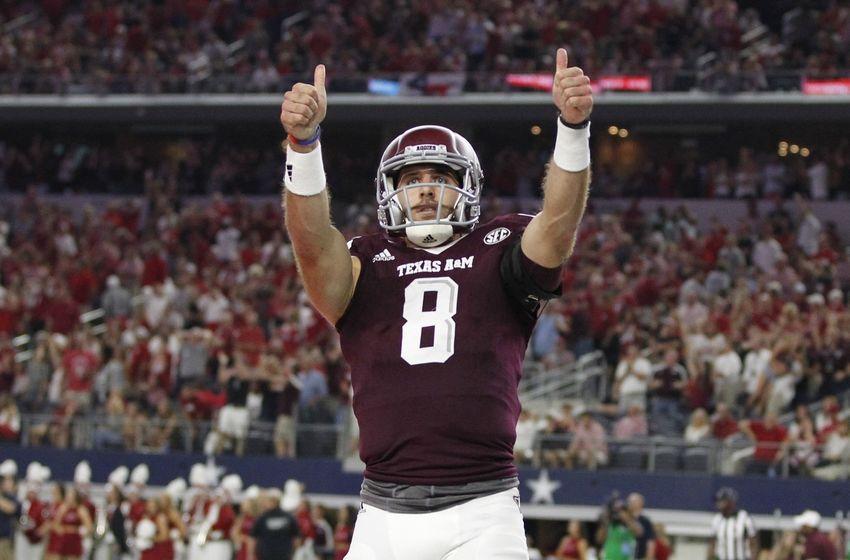 Sep 24 2016 dallas tx usa texas a amp m aggies quarterback trevor
