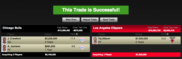 Clippers Trade