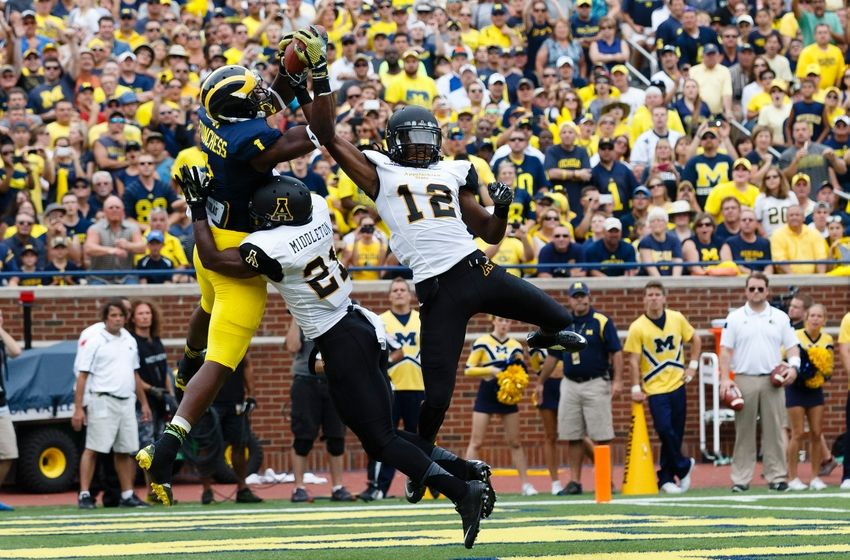 Michigan over Appalachian State 2014