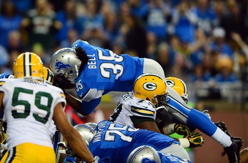 Green Bay Packers vs Detroit Lions 2014