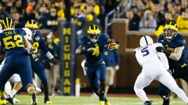 Rushing Attack Key For Michigan Wolverines Against Maryland