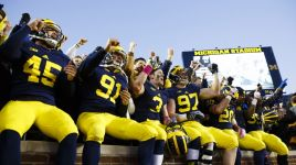 Michigan Wolverines Football Playing for Postseason Birth this Weekend