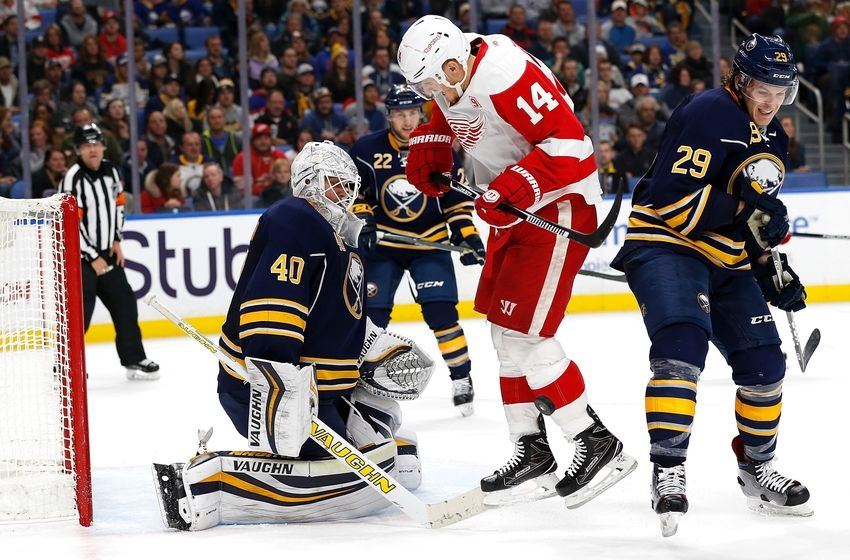 detroit red wings vs sabres game time tv radio live stream. Black Bedroom Furniture Sets. Home Design Ideas