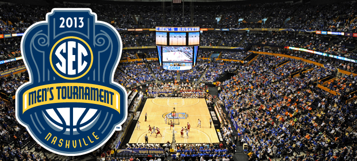 2013 SEC Basketball Tournament: Bracket, Dates, and TV Schedule