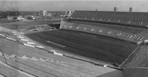 Commonwealth Stadium 1973