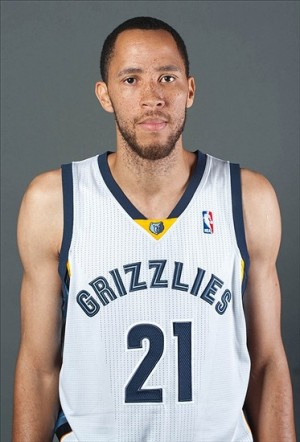 Sep 30, 2013; Memphis, TN, USA; Memphis Grizzlies forward Tayshaun Prince poses for a portrait during media day at FedExForum. Mandatory Credit: Justin Ford-USA TODAY Sports