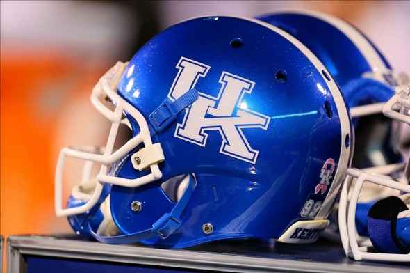 Blue Kentucky Helmet-Part Of The Current Uniform Combinations