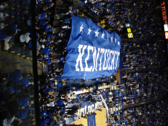 Student section banner