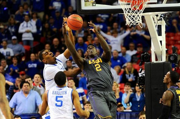 NCAA Basketball: SEC Tournament-Kentucky vs LSU