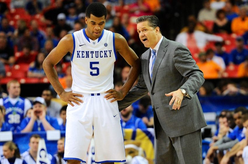 Kentucky Basketball Our First Look At The New Wildcats In: 2014-2014 Kentucky Wildcats Basketball: Meet Andrew