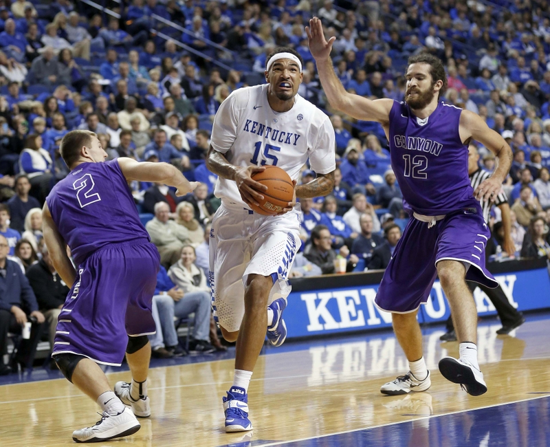 Kentucky Wildcats Basketball: Grand Canyon Notes and Pictures