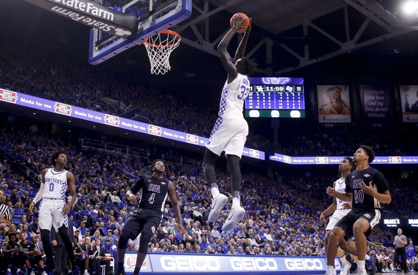 Rupp Arena Rafters Getting Painted Blue: Kentucky Basketball: Willis, Gabriel Key To Cats' Season