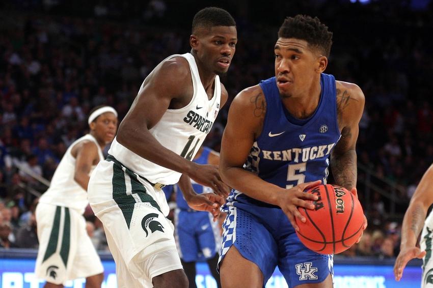 Malik Monk And De Aaron Fox Usa Today All Americans: Kentucky Basketball: Monk, Briscoe Shine As Cats Throttle