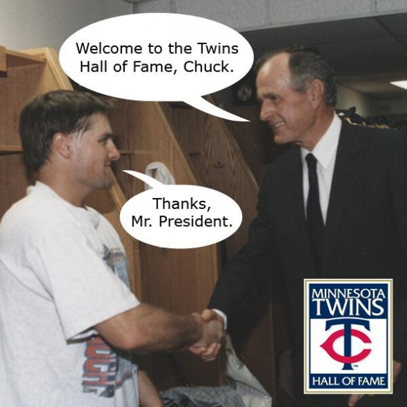 Picture via Twins' twitter account: https://twitter.com/Twins/status/426785723400728576/photo/1