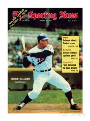 sporting-news-magazine-october-25-1969-minnesota-twins-harmon-killebrew-lethal-swinger