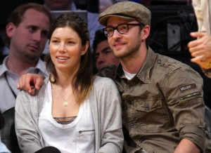 Jessica Biel and Justin Timberlake (Huff Post)