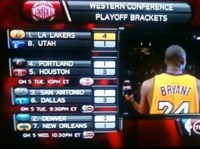 Kobe And The Lakers Advance (TNT)