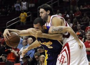The Rockets tried, but couldn't keep Jordan Farmar from making a statement. (ESPN)