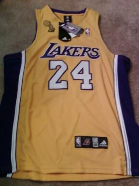 My New Kobe Bryant Jersey