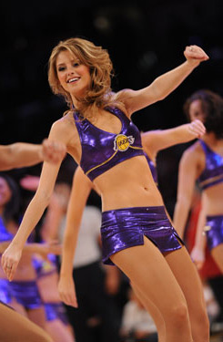Laker Girl Annika