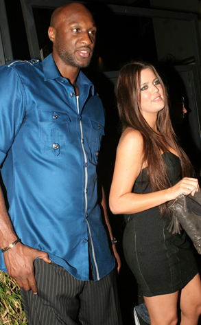 Lamar and Khloe.