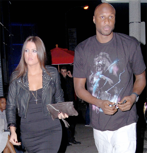 Khloe and Lamar.