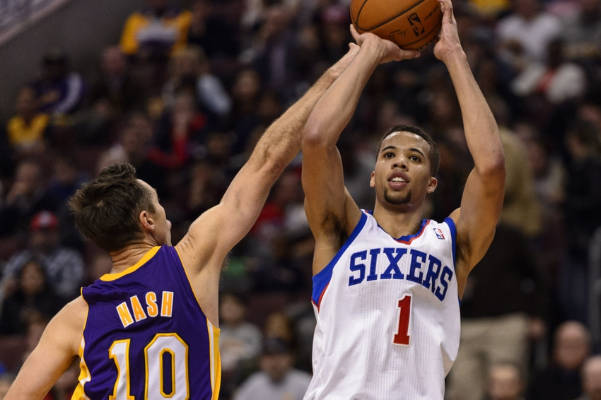 Lakers draft rumors lakers 76ers working on mcw trade