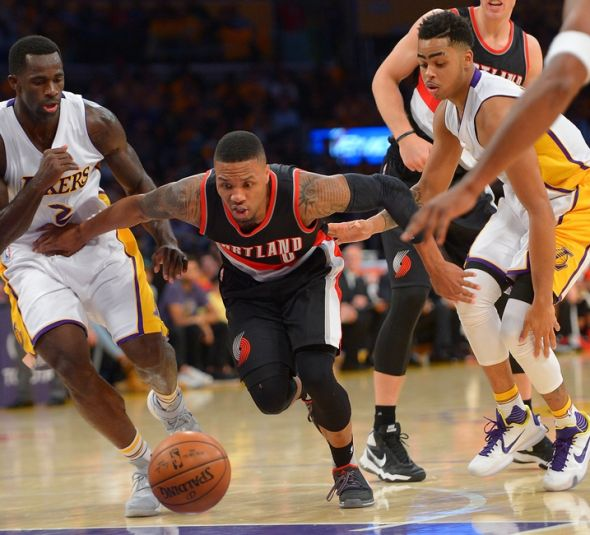 Blazers Vs Lakers: Lakers Vs. Blazers: Live Game Chat Thread