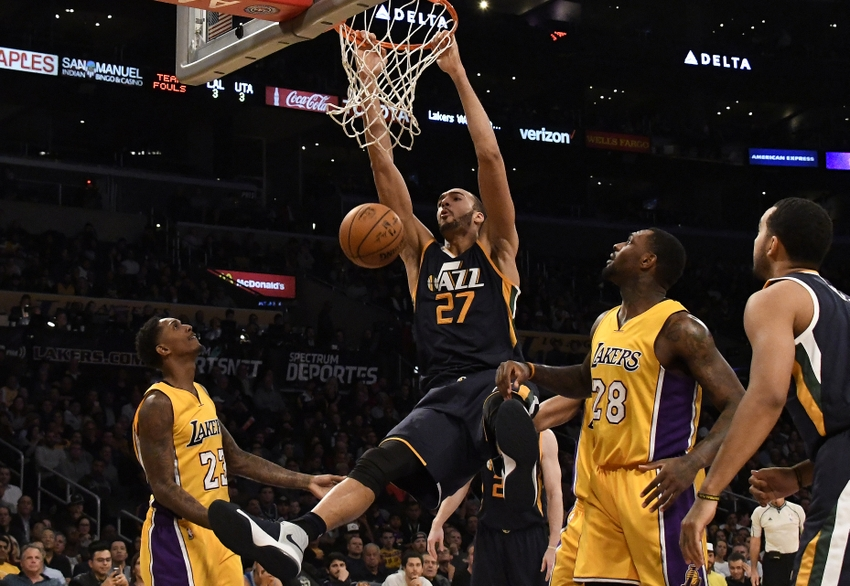 9728211-rudy-gobert-tarik-black-nba-utah-jazz-los-angeles-lakers