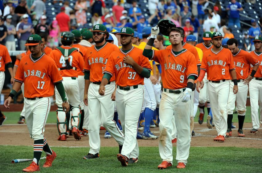 Miami Hurricanes Ranked Eight By Collegiate Baseball