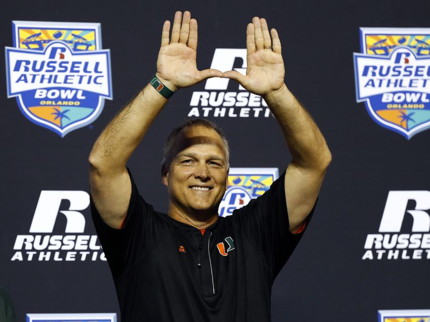 9772986-mark-richt-ncaa-football-russell-athletic-bowl-west-virginia-vs-miami