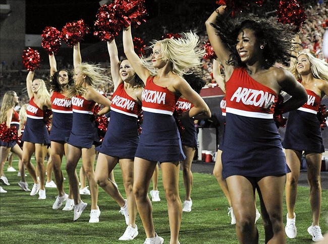 The Arizona Wildcats play their first road game of the season Saturday against the UNLV Rebels at Sam Boyd Stadium in Las Vegas. The game will begin at 7:30 p.m. (MST) and be broadcast live on the CBS Sports Network (Photo by Casey Sapio/USA TODAY Sports)