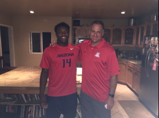 Rich Rod and Khalil Tate