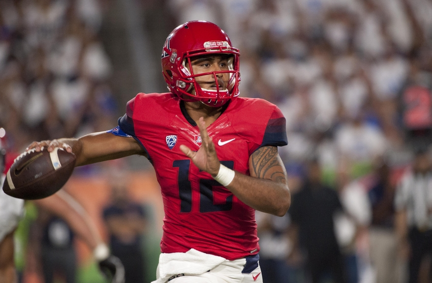 Dawkins leads Arizona rally in 31-21 win over Grambling St.