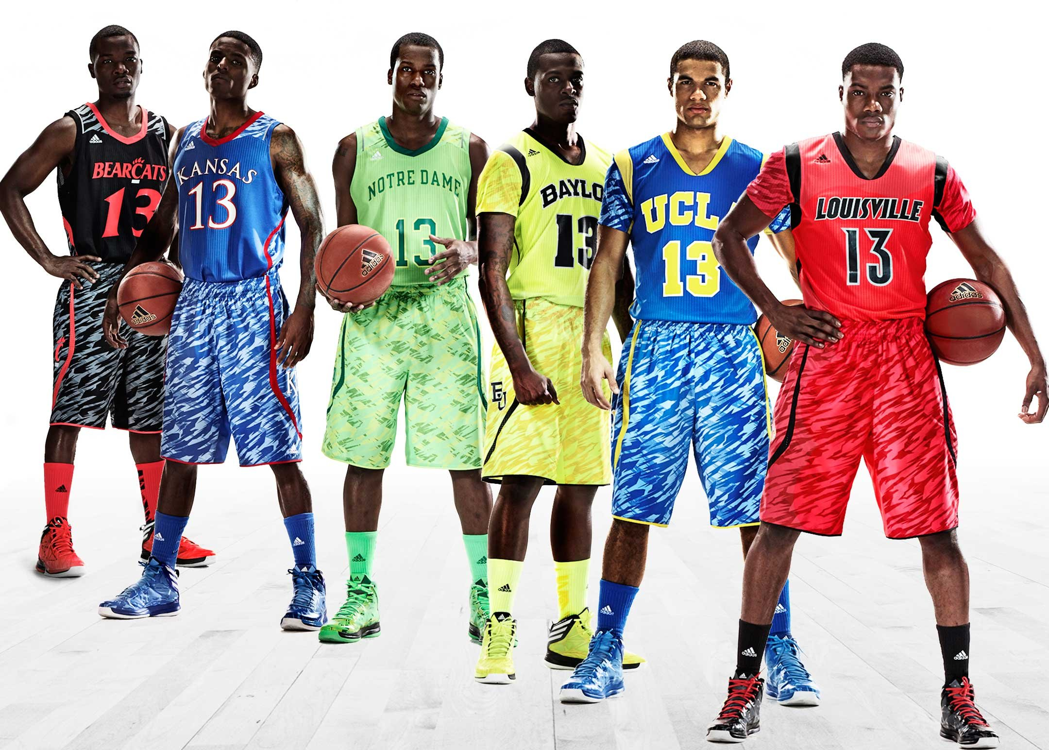 UCLA Bruins Basketball: Adidas Reveals New Sleeved ...
