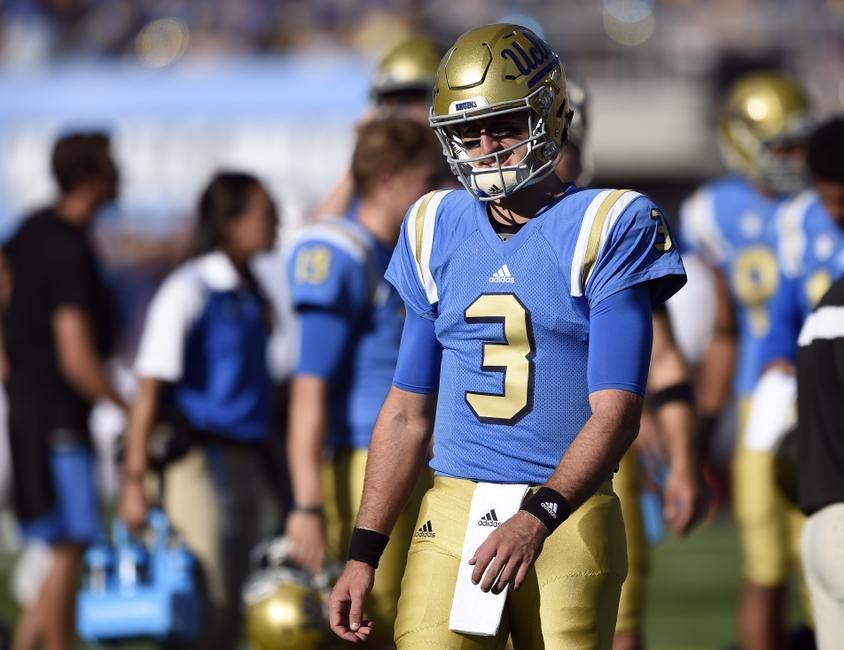 UCLA football trails Utah 27-21 at halftime