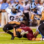 NCAA Football: North Carolina at South Carolina