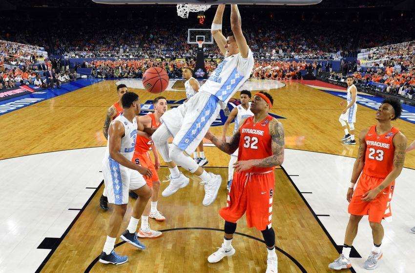 Apr 2, 2016; Houston, TX, USA; North Carolina Tar Heels forward Justin ...
