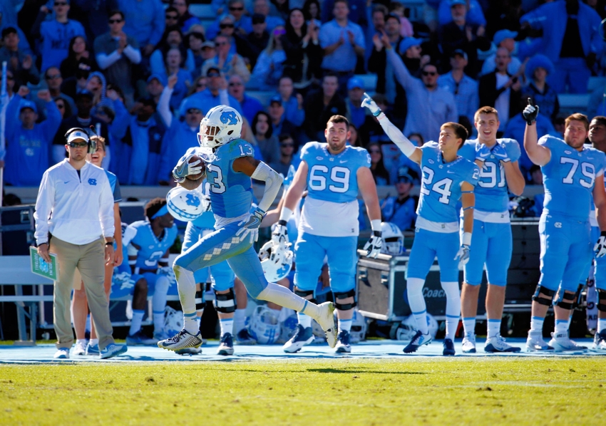 new style 3545a e0f56 Tar Heels Football: Takeaways from UNC vs. Georgia Tech ...