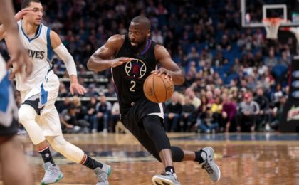 Nov 12, 2016; Minneapolis, MN, USA; Los Angeles Clippers guard Raymond Felton (2) dribbles in the second quarter against the Minnesota Timberwolves at Target Center. Mandatory Credit: Brad Rempel-USA TODAY Sports