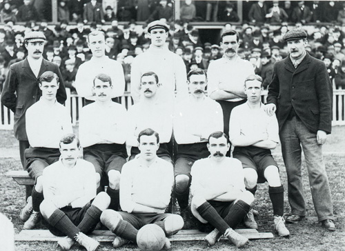 Spurs 1901 FA Cup winning team