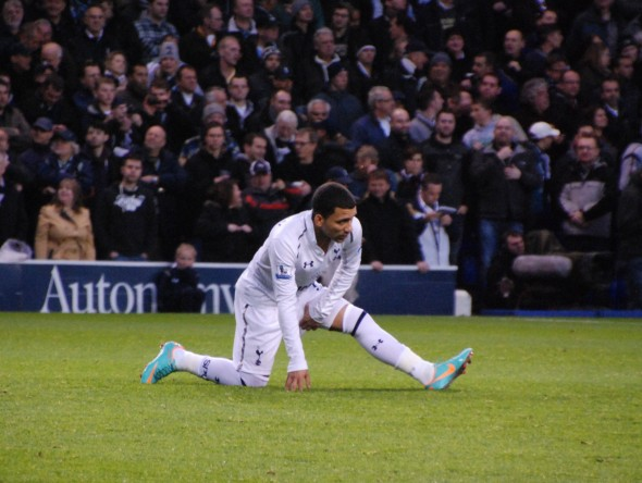 Aaron Lennon - set to return? [Photo: Jav The_DoC_66]
